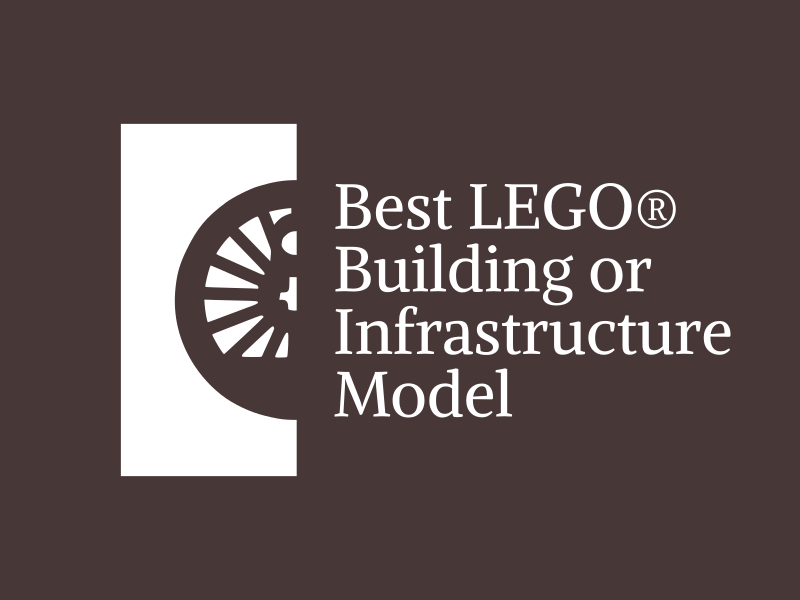 Brick Train Awards - Best Building Award