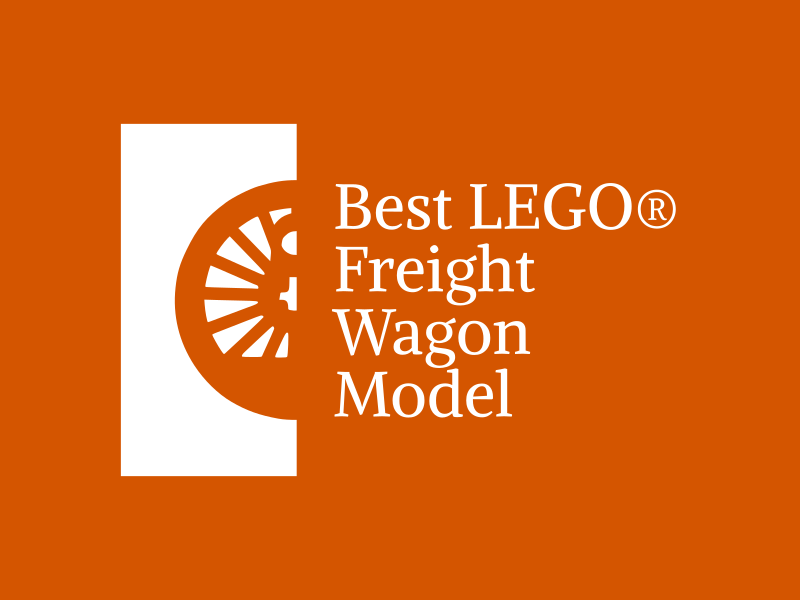 Brick Train Awards - Best LEGO freight wagon model