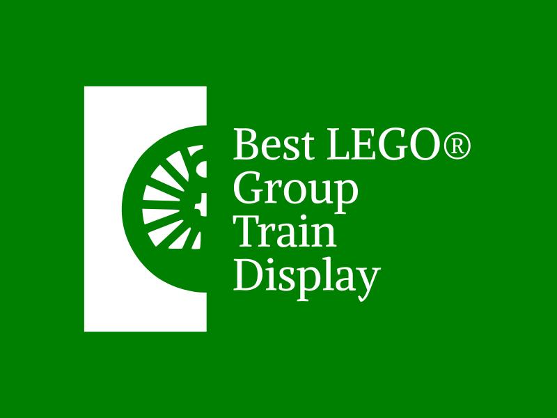 Brick Train Awards - best LEGO Group train display