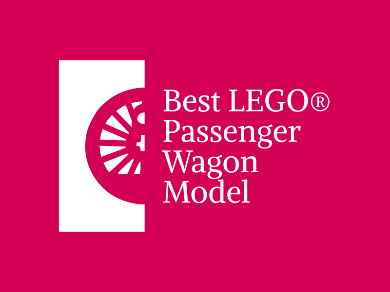 Brick Train Awards - best passenger wagon award
