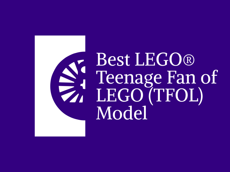 Brick Train Awards - best TFOL (Teenage Fan of LEGO) model award