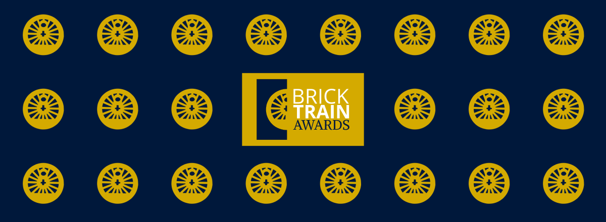 Brick Train Awards background graphic