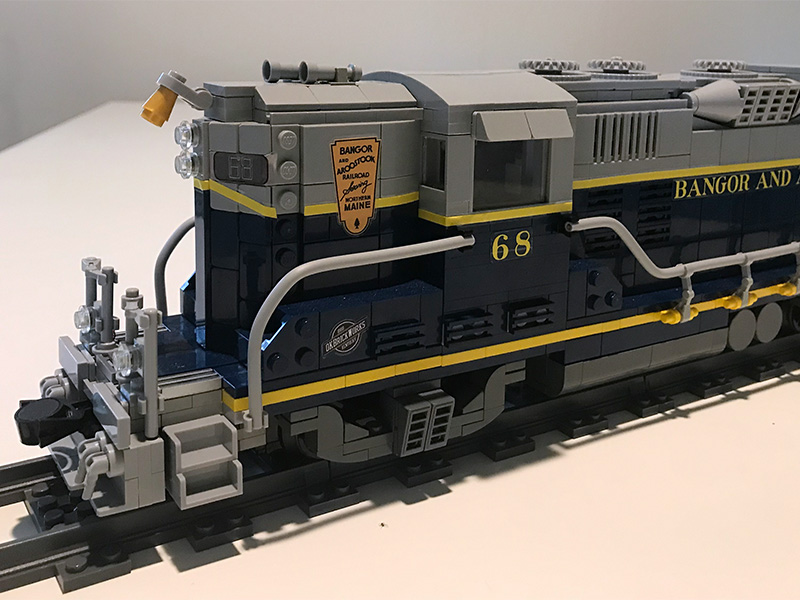Best LEGO® Diesel Locomotive