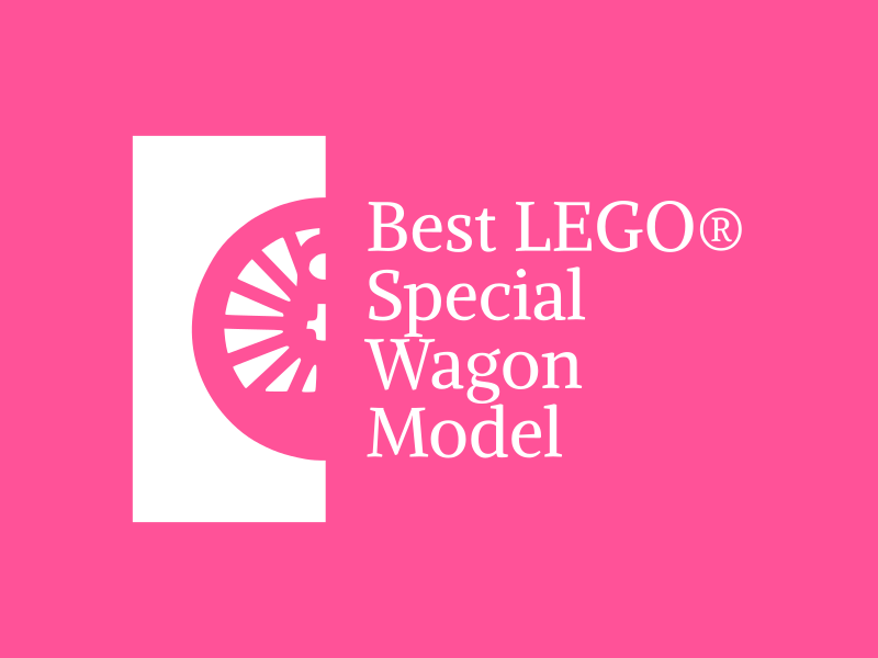Best LEGO® special wagon