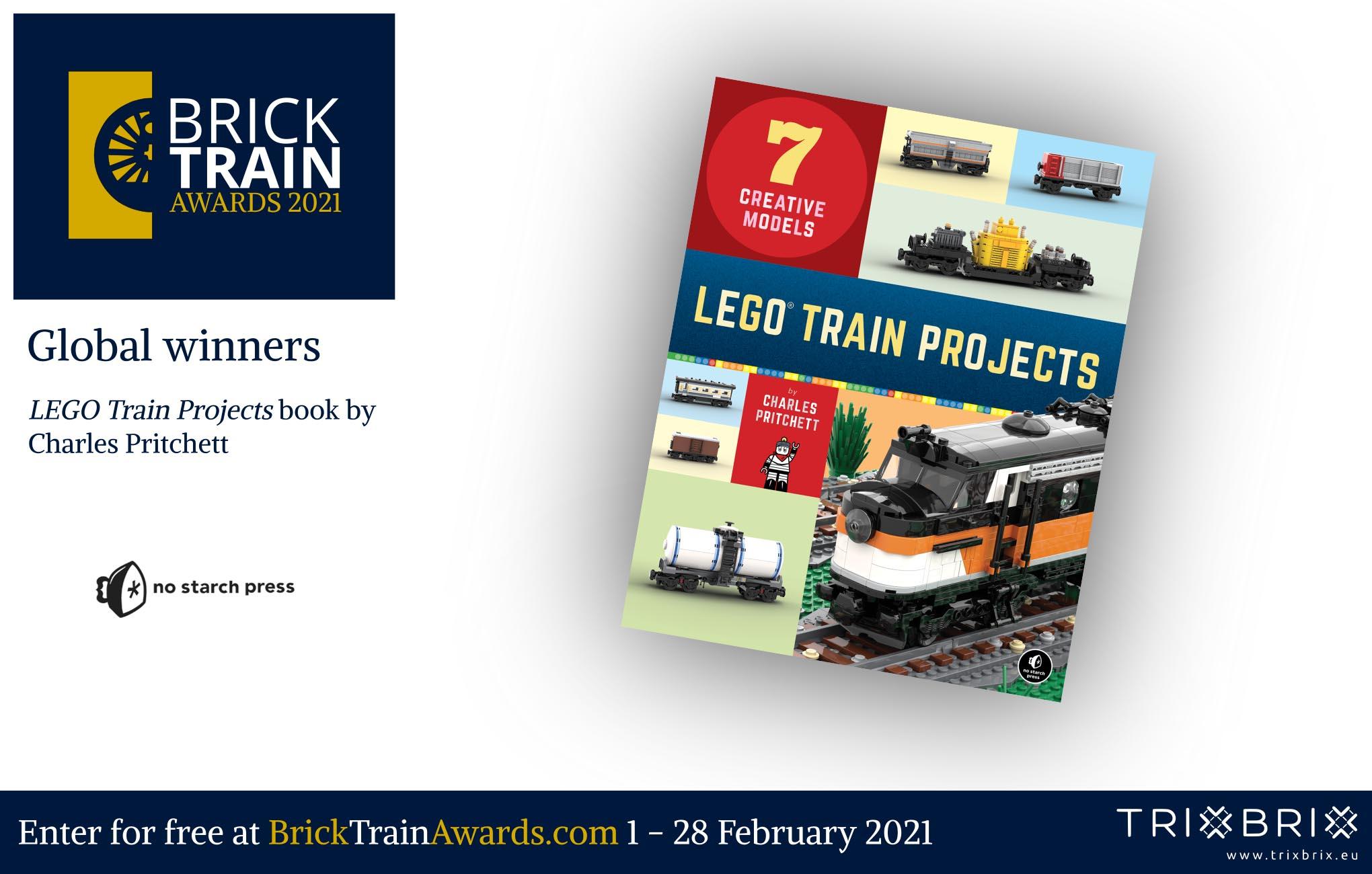 Brick Train Awards - prizes - No Starch