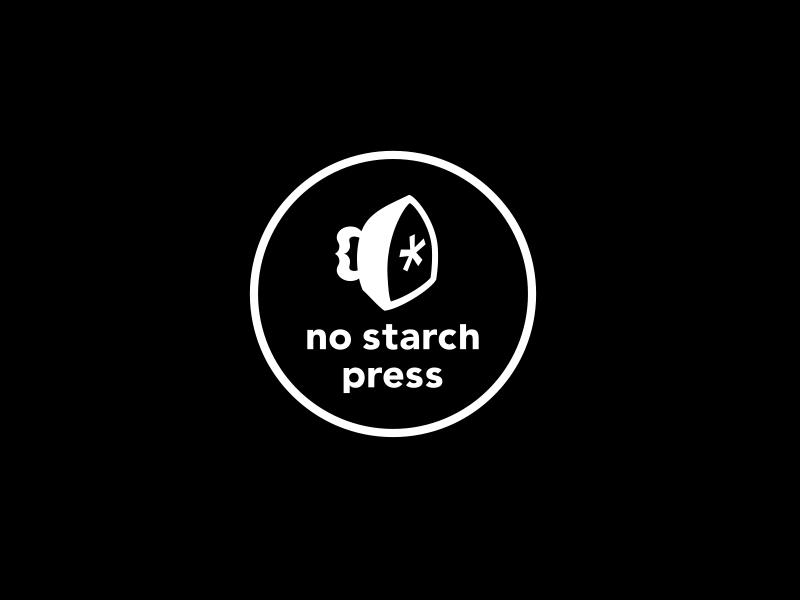 No Starch Press logo - sponsor of Brick Train Awards