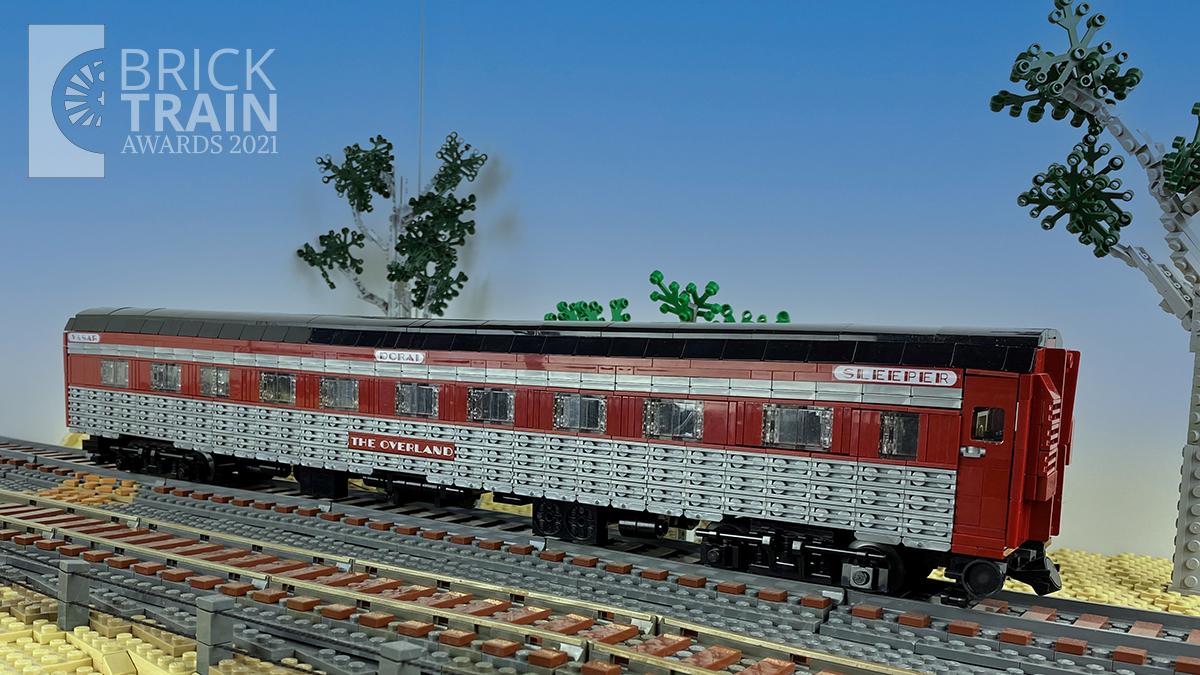Best LEGO® Passenger Wagon