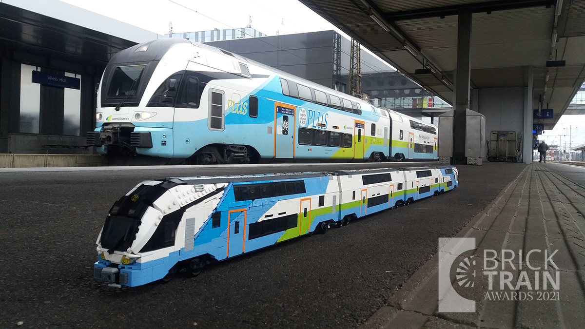 Best LEGO® Electric Locomotive