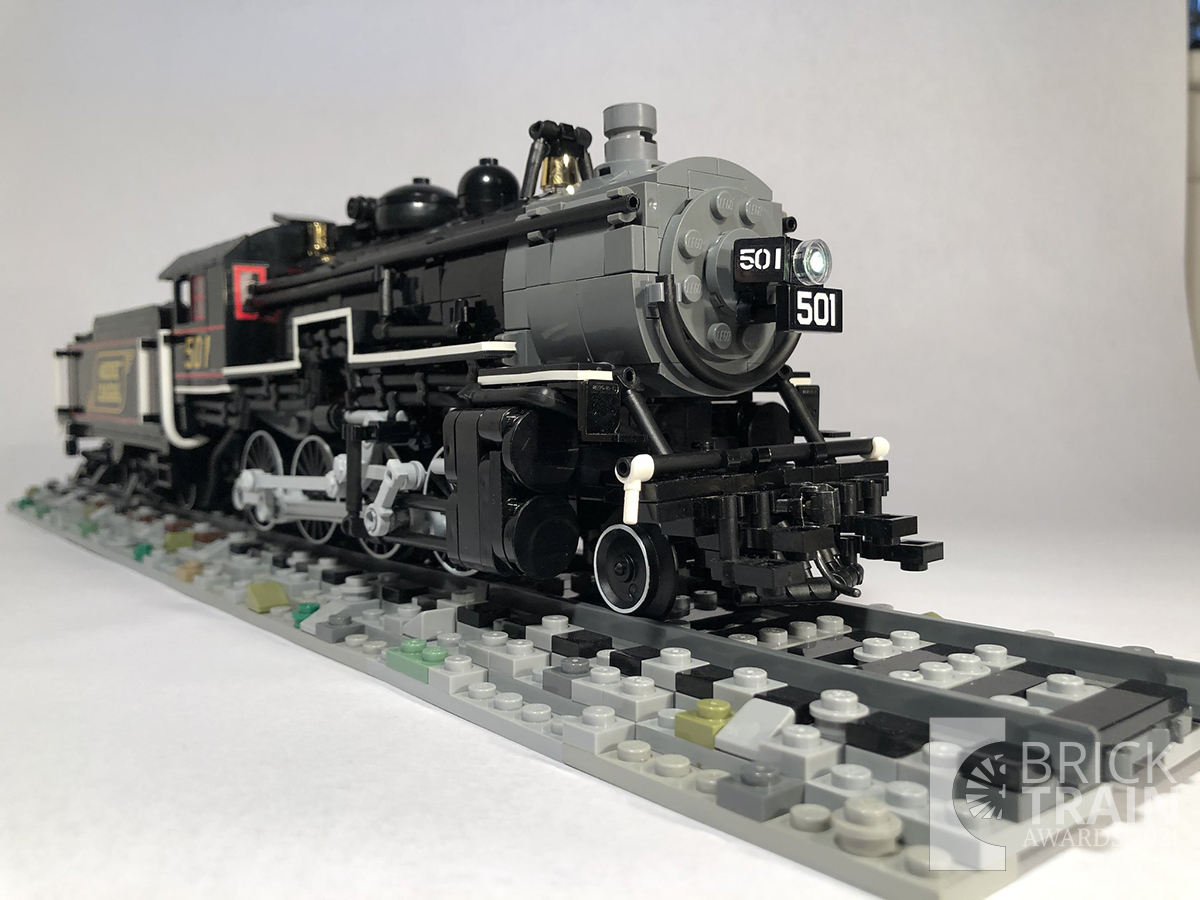 Maine Central 2-8-0 #501