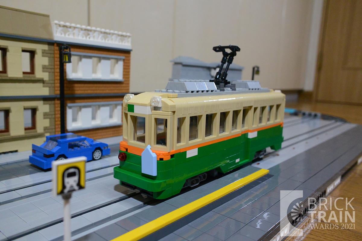 Hiroshima Electric Railway TYPE 1900